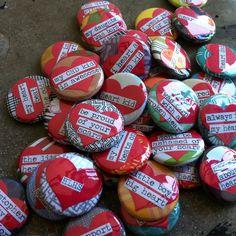 Congenital Heart Defect CHD Awareness Pinback Button by PinMeDown, $7.00