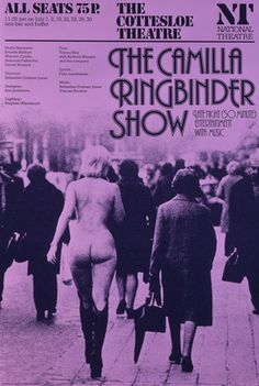 Camilla Ringbinder Show, The -- 1977 -- High quality art prints, framed prints, canvases -- National Theatre Posters