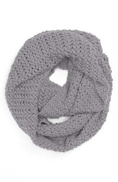David & Young Knit Infinity Scarf (Juniors) | Nordstrom