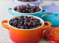 Slow Cooker Black Beans are inexpensive, easy, delicious, and nutritious. Perfect as a healthy main dish or as a side to your Mexican favorites.