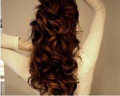plain curl perm hairstyle