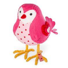Valentine's Day pink decorative bird decor