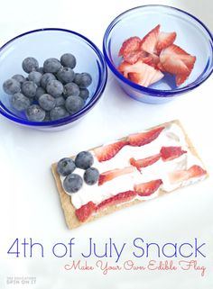 Fourth of July Snack Idea for Kids 4th of July Snack