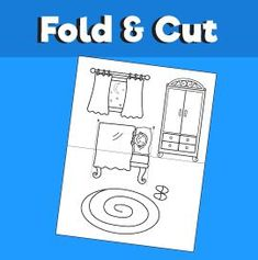 Boy Going to Sleep - Fold and Cut – 10 Minutes of Quality Time Animal Crafts For Kids, Paper Crafts For Kids, Toddler Crafts, Diy For Kids, Airplane Coloring Pages, Truck Coloring Pages, Rhyming Activities, Preschool Learning Activities, Kids Planner