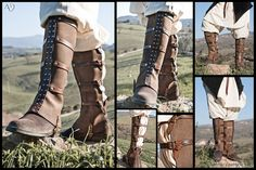 They are boot covers for shoes. - Finished as of June 6th, 2012