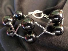 Another glass and bugle bead bracelet