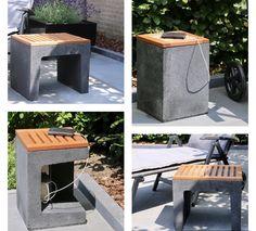 Garden Cabins, My Secret Garden, Outdoor Gardens, Diy Home Decor, Outdoor Living, Home And Garden, Cinder Blocks, House Design, Halle