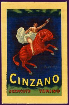 """""""Cinzano"""" - Leonetto Cappiello, 1910"""