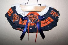 NFL Chicago Bears Print  Football Team Baby Girl by HodgePodgeBaby, $15.00