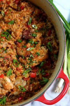 Jambalaya is frequently associated with cast iron cooking for quite a few explanations. Creole jambalaya is distinguished by the usage of tomatoes and. Jambalaya Cajun, Creole Jambalaya Recipe, Homemade Jambalaya, Creole Recipes, Cajun Recipes, Cooking Recipes, Louisiana Recipes, Haitian Recipes, Healthy Recipes