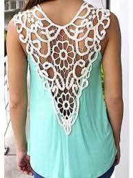 Image result for crochet tank tops patterns free