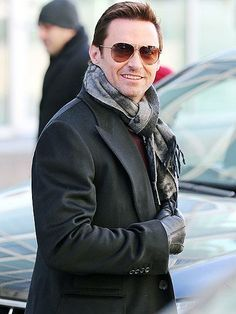 Hugh Jackman, who will return to Broadway next season in the Jez Butterworth play The River, faces the day with a smile in New York City. http://www.people.com/people/gallery/0,,20780608,00.html#30090579