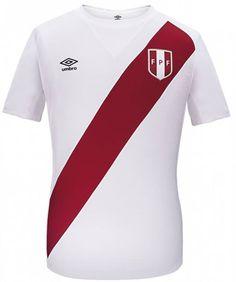 Umbro Peru Jerseys season- Peru Home and Away Shirts Peru Football, Football Kits, Rugby, Chile 2015, Home And Away, Sports Shirts, Lacoste, Polo Ralph Lauren, Mens Tops