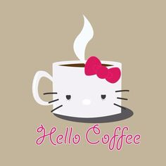 You had me at hello (kitty). #coffee #java #caffeine #coffeebeans #espresso #mocha #latte #coffeelover #ilovecoffee #cheers #drinkup #morning #wakeup #addicted #addictedtocoffee #beans #espressobeans #blackcoffee #weekday #work #letsdothis #goodmorning #thursday #thursdaymorning #hello #hellokitty #yawn