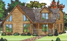 23 Best Log Homes images | Log homes, House styles, House plans X Fairmont Mobile Homes Floor Plans on