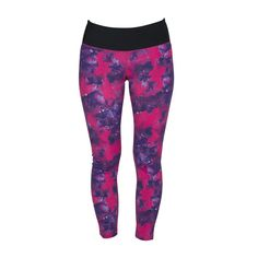 Drop of mindfulness Bow Print Legging, träningstights dam