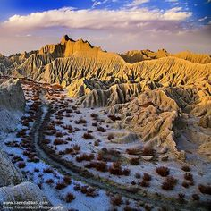 Martian mountains , Chabahar , South of Iran چابهار