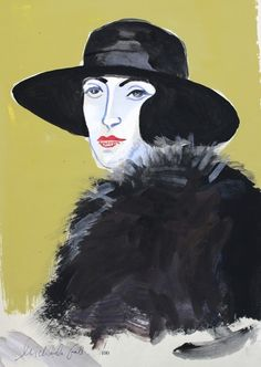A collection of limited edition prints by artist Michaela Gall (studied at Chelsea School of Art and L'Ecole des Beaux Arts, Paris). Her painterly style is often found on her one-off ceramics pieces which explores iconic figures throughout history: Coco Chanel, Elizabeth I, William Shakespeare, Igor Stravinsky