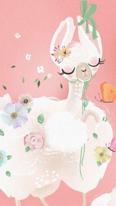 Seagrass Wallpaper, Paintable Wallpaper, Bird Wallpaper, Emoji Wallpaper, Animal Wallpaper, Fabric Wallpaper, Colorful Wallpaper, Alpacas, Art And Illustration