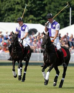 Prince William and Harry Playing Polo | Photos 14 .07.13