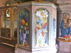the art of duncan grant and vanessa bell Berwick Church - Google Search