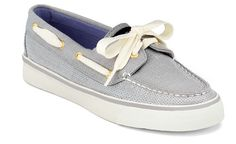 These cuties were waiting for me on my front porch this afternoon...Love them!  Sperry Top-sider Women's Jersey Sequin Bahama Boat Shoe