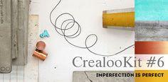 Hormigón, cobre y transfer de imagenes en el DIY Kit de Crealoo  Beton, Kupfer und Bildtransfer in dem  DIY Kit von Crealoo