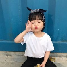 Cute Asian Babies, Korean Babies, Asian Kids, Cute Babies, Cute Baby Meme, Baby Memes, Cute Little Baby, Little Babies, My Baby Girl