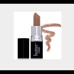 """Butter London Lippy Tinted Balm in """"Nutter"""" Get the moisture of a lip balm with the finish and color of a lipstick Butter London Makeup Lipstick"""
