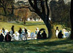 Thomé, Verner From the Park, Paris 1906