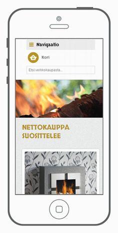Responsiivinen Magento-verkkokauppa | Lamia