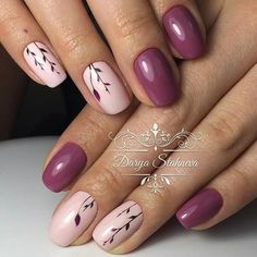 Cute Nail Designs For Spring – Your Beautiful Nails Classy Nails, Stylish Nails, Simple Nails, Cute Nails, Pretty Nails, Fall Nail Art Designs, Simple Nail Designs, Acrylic Nail Designs, Pink Nails