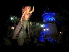 ▶ Under The Sea Journey of The Little Mermaid - Magic Kingdom - Walt Disney World - YouTube...to show to Jesse!