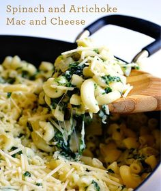 One-Pot Dinners Ready in Under 30 Minutes: Spinach and Artichoke Mac and Cheese