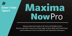 Maxima® Now Pro - Webfont & Desktop font « MyFonts