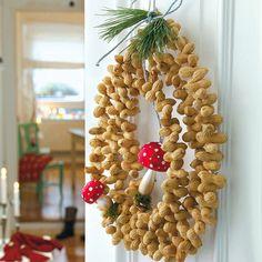 Weihnachtsdeko basteln - Hübsches zum Fest