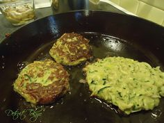 Zucchini Leek Pancakes(Latkes)