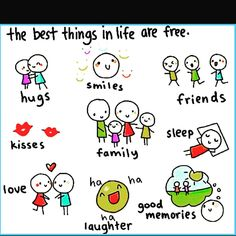 The best things in life are #free! Did I miss anything? What is important to you? Best Memories, Hug, Life Is Good, Laughter, Sons, Good Things, Free, Instagram, Life Is Beautiful