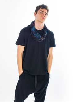 Unisex Harem Pants with pockets Harem Sweatpants Drop