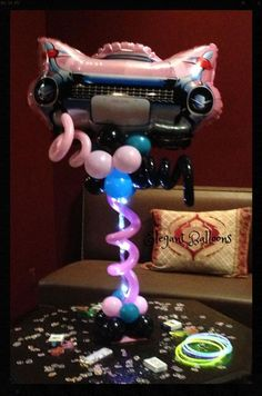 By Anne Cahill McGovern www. By Anne Cahill McGovern www. Led Balloons, Balloon Lights, Led String Lights, Sweet 16 Decorations, Balloon Decorations, Battery Operated Led Lights, For Your Party, Centerpieces, Sparkle