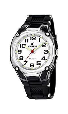 Calypso watches Jungen-Armbanduhr Analog Quarz Plastik K5560/4 - http://kameras-kaufen.de/calypso/calypso-watches-jungen-armbanduhr-analog-quarz-4