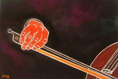 Mano violonchelo