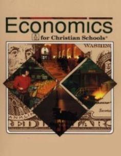 BOB JONES ECONOMICS TEXT
