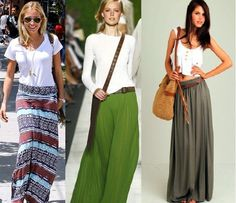 The Todd & Erin Favorite Five Daily is out--Summer Maxi Skirts–How To Wear Them