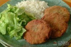 Receita de Bifinho de carne moída em Carnes, veja essa e outras receitas aqui!