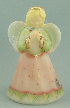 Fenton glass angel