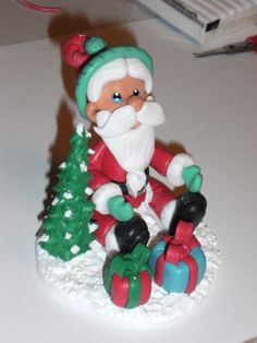 Santa Clause fimo