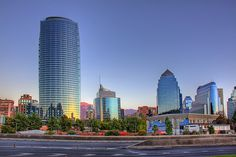 Titanium tower, Santiago Chile by Christian Bobadilla, via Flickr