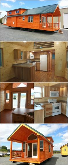 The Pacific Loft from Rich's Portable Cabins Is a Cozy Rustic Dream Tiny House - Recently we showed you the Watson tiny house model from Rich's Portable Cabins and you loved it as much as we did so we're showing you another of their incredible cabins: The Pacific Loft. This cozy home is similar to the Watson but with a different interior layout. If you're around North Powder, Oregon, you should stop in and tour the homes for yourself!