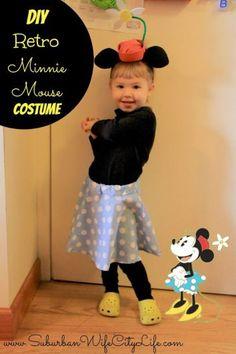 Retro Minnie Mouse DIY Costume